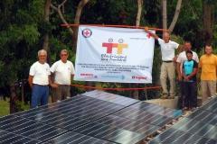 3 fermes solaires aux Philippines