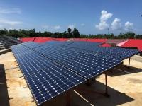 Électrification rurale 3 centrales solaires aux  Philippines.