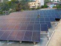 Électrification rurale 1 centrale solaire aux  Philippines.