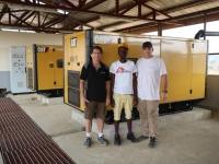 Électrification rurale hôpital au Sierra Leone.