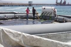 Station solaire flottante