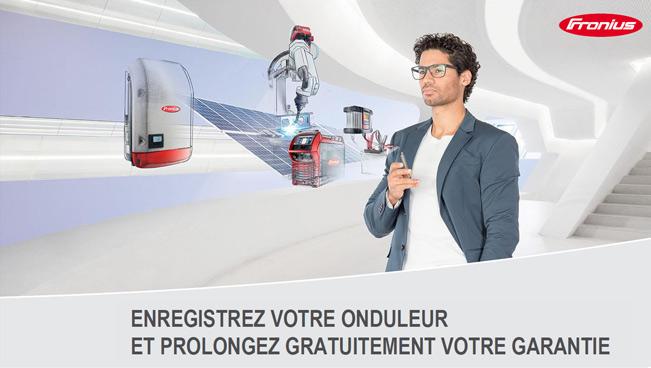 Conditions extensions de garantie gratuites Fronius