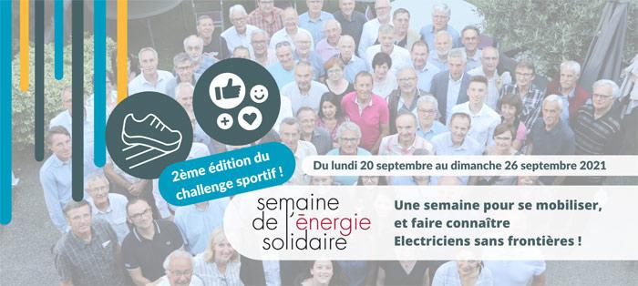challenge de la Semaine de l'Energie Solidaires