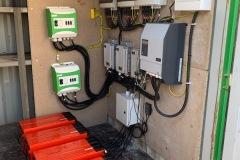 Électrification bungalow de chantier