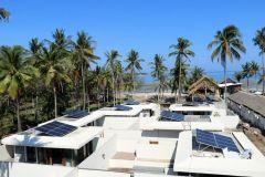 Electrification rurale d'un complexe hotelier à Lombok Indonésie
