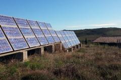 Skystream 3.7 en Site isolé couplée avec photovoltaïque